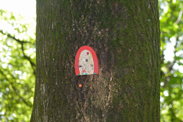 Fairy Door on Tree
