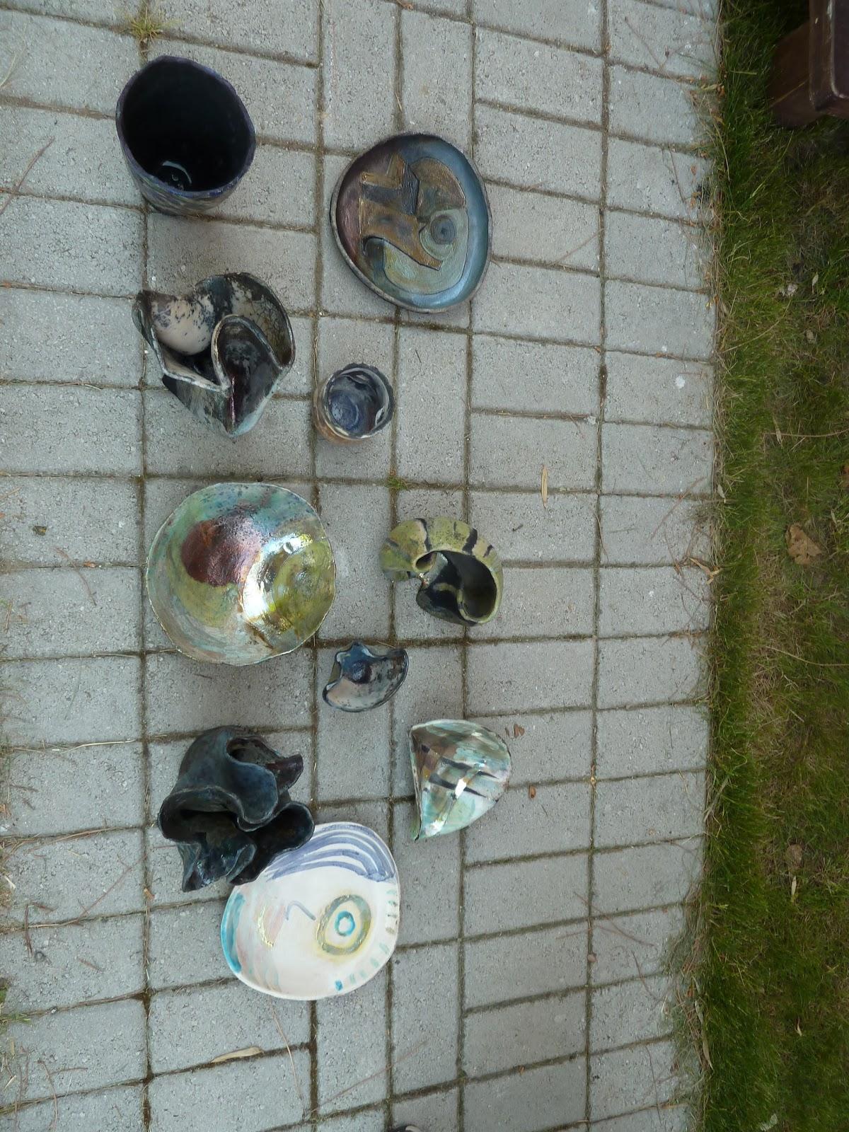 Chisato ceramica curso de raku con esmaltes mates en napoli for Curso ceramica barcelona