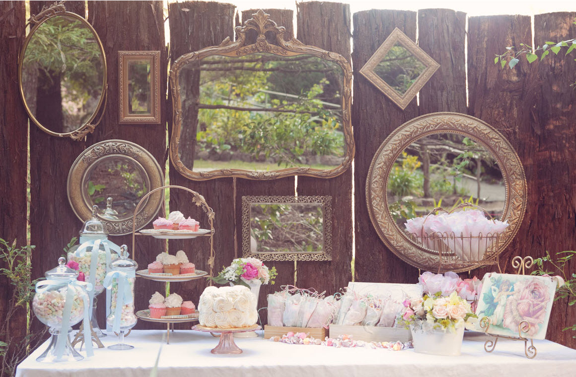 vintage inspired tea party sweets table guest feature. Black Bedroom Furniture Sets. Home Design Ideas