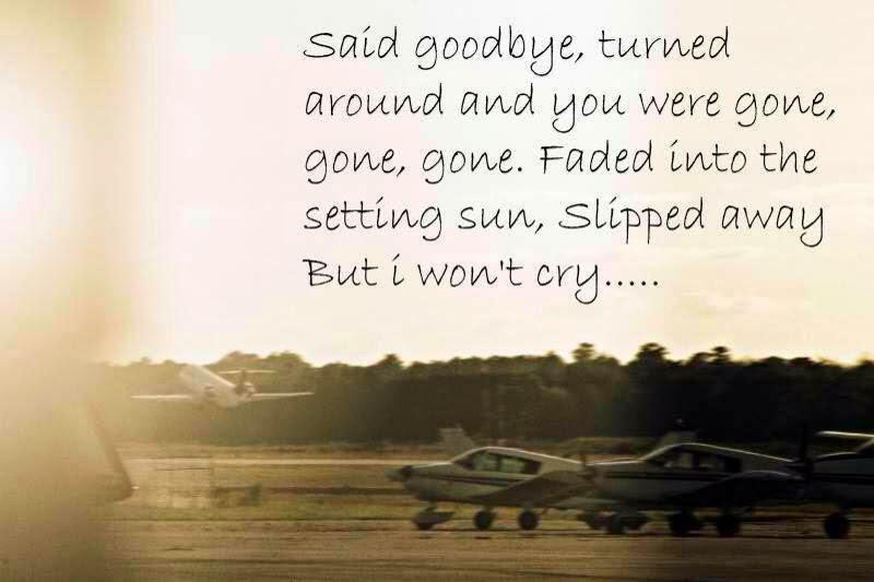 Too Many Goodbyes....