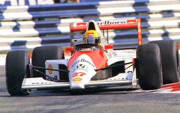 1990 Carro Ayrton Senna Fórmula 1 Mclaren