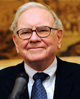 Warren Buffet valuing stock