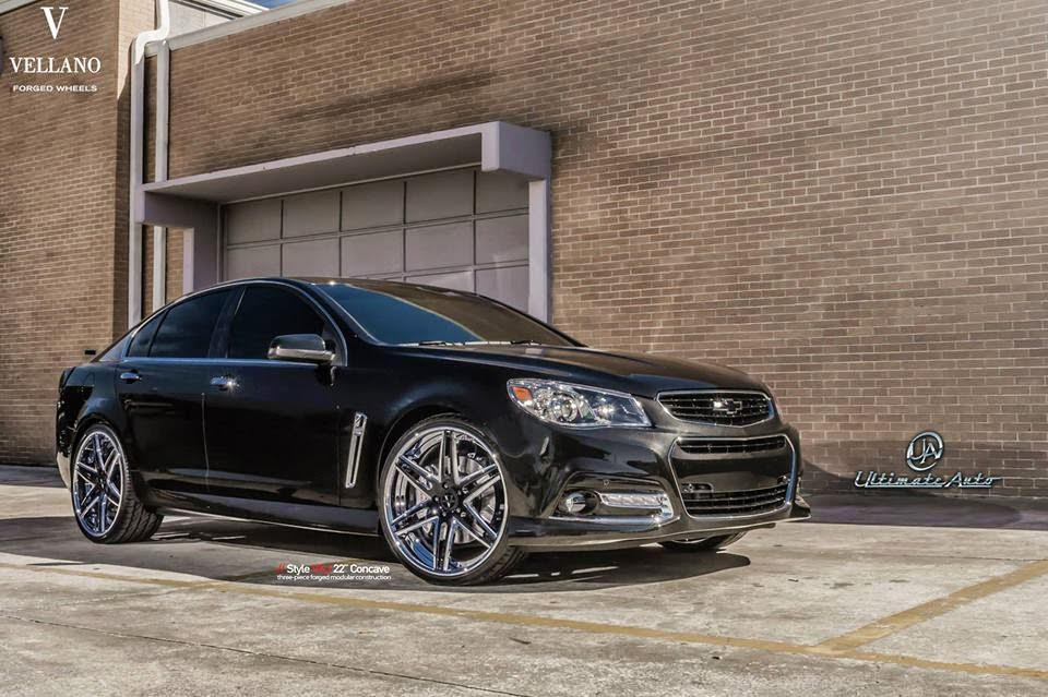 2014 Chevrolet Ss On Vellano Vkj 22 Quot Concave Wheels