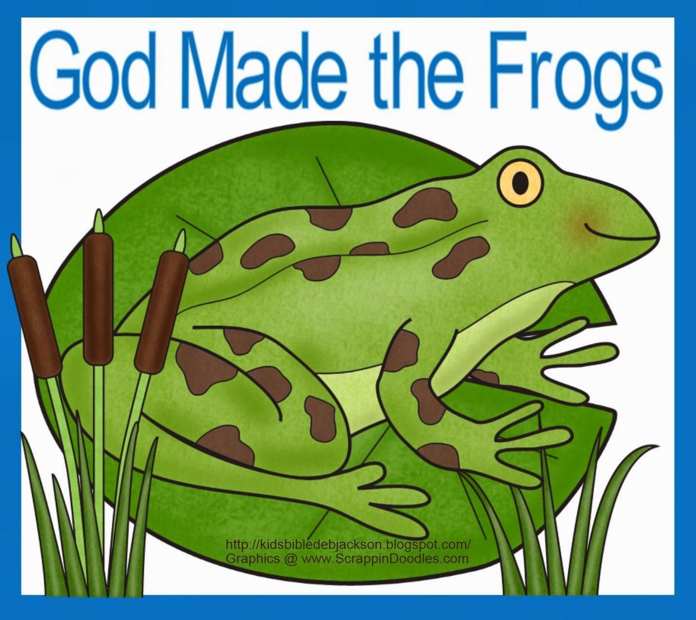 http://kidsbibledebjackson.blogspot.com/2014/01/god-makes-frogs-for-preschool.html