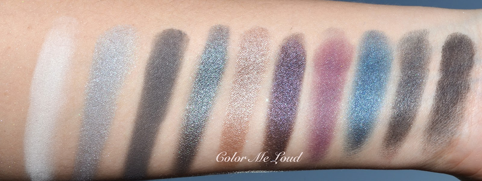Ysl couture variation 10 color eye palette 2 tuxedo review swatch ysl couture variation 10 color eye palette 2 tuxedo ccuart Gallery