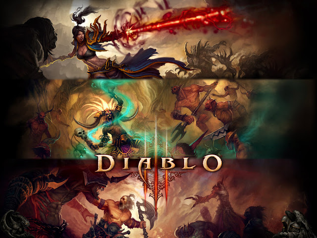 diablo 3 demon hunter barbarian wizard monk