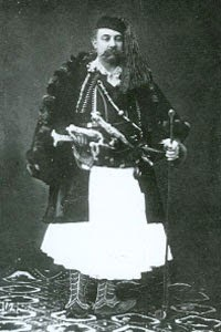 Hamza Kazazi, leader of the 1833–1839 revolts.