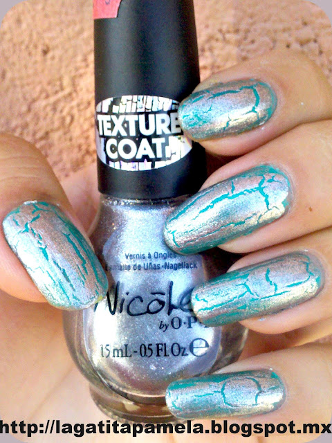 nicole by opi silver texture