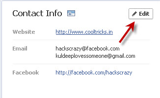 how to find your email address on facebook