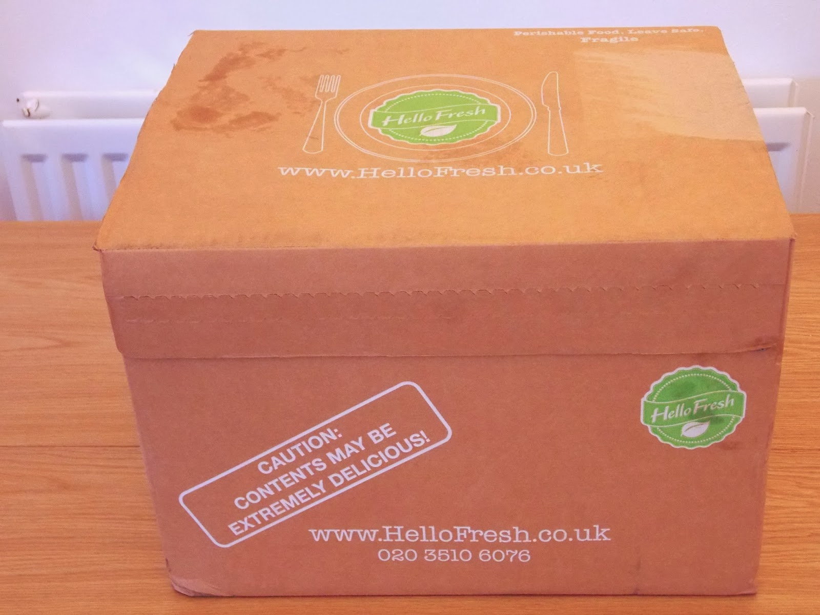 Hello Fresh Box: The Packaging