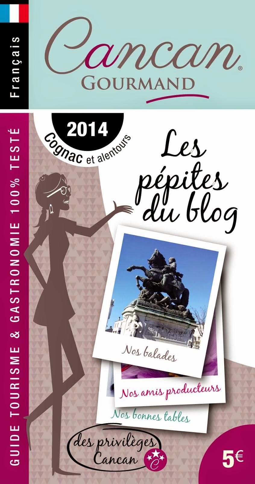 Le guide Cancan Gourmand est disponible, en français et en anglais !