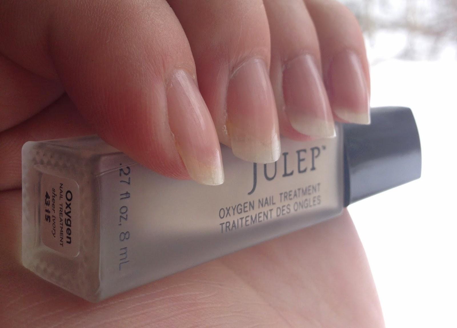 Oxygen Nail Treatment Ivory