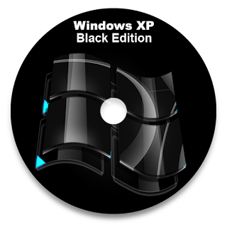 Windows Xp SP3 Black Edition 2013 Cover