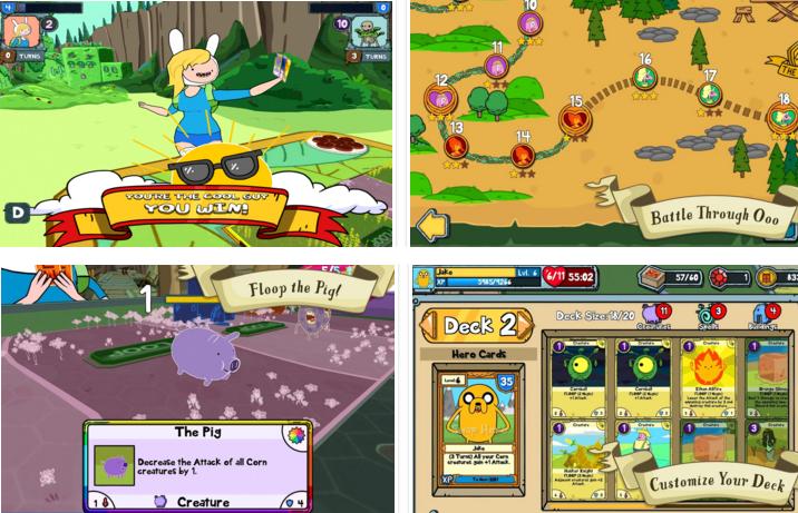 Card Wars – Adventure Time v1.8.0 APK DATA