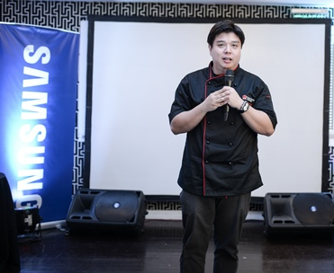 Samsung Digital Appliances Ambassador Chef Ernest Gala