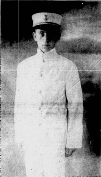 Cadet Edward Ellsberg, c. 1910