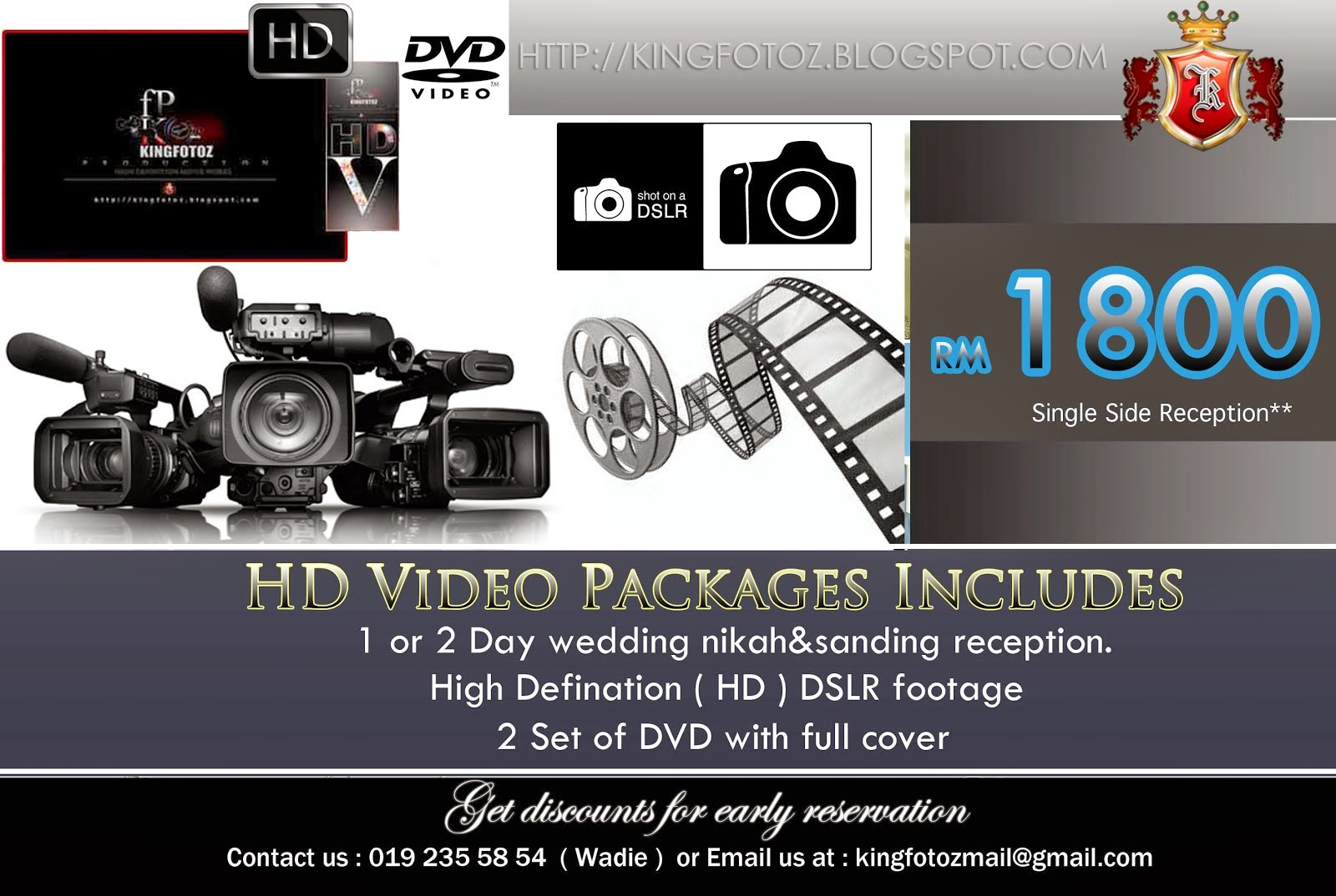 HD Video Wedding Packages