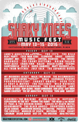 Shaky Knees Festival - 2016