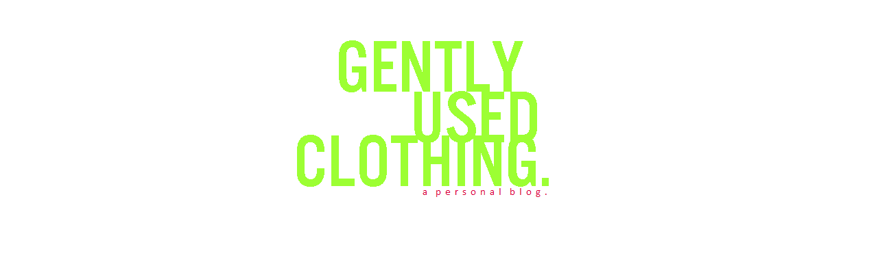 ||| Gently Used Clothing |||