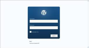 wordPress admin password