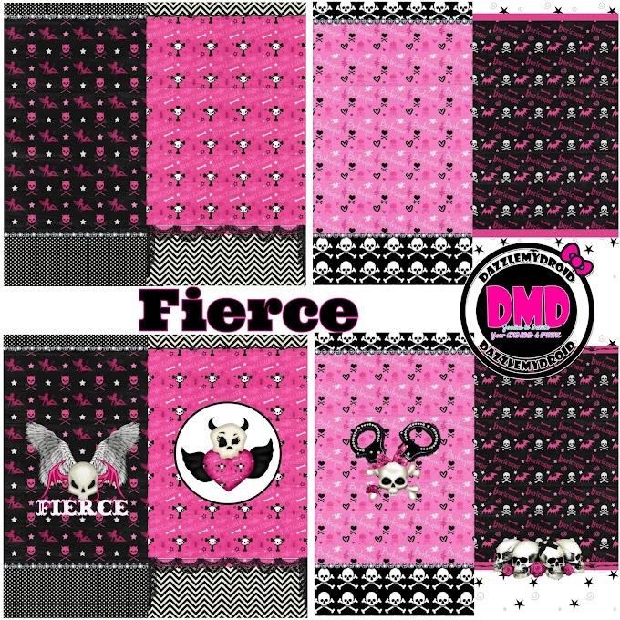 Freebie♡♡♡ Fierce wallpaper collection