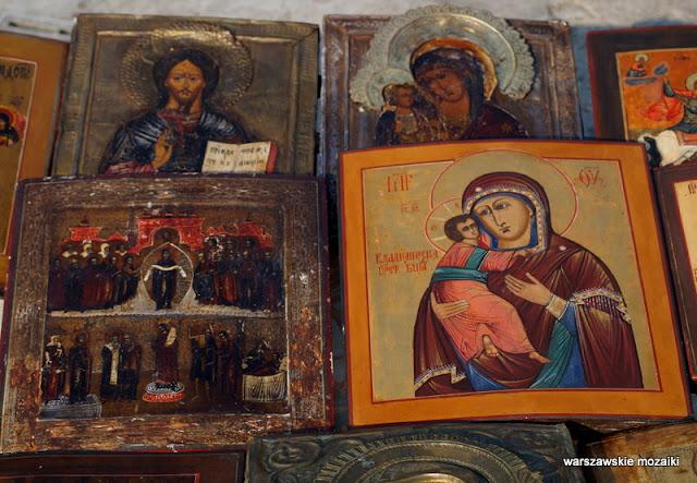 Warszawa bazary Wola targ staroci kolekcjonerzy starocie