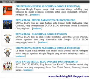 Dunia Blog 888