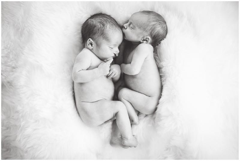 newborn twins, Helen Lisk Photography