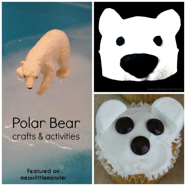 Polar Bear Head Band