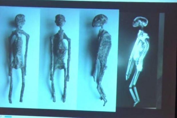Κι αν υπάρχουν; - Μεξικάνος ειδικός υποστηρίζει ότι βρέθηκαν μούμιες… εξωγήινων στο Περού (Video)