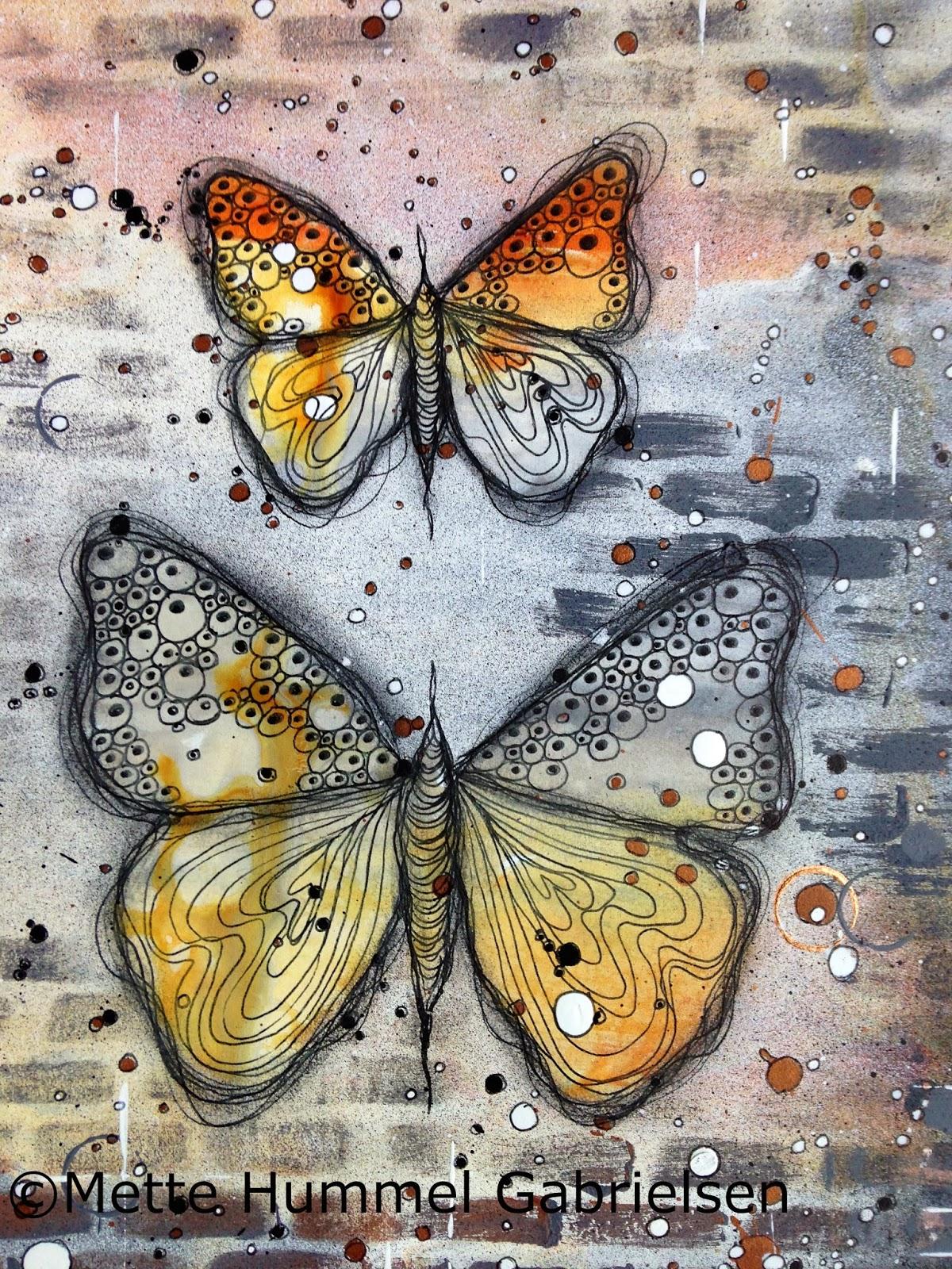 The Hummel Home Graffiti Butterflies