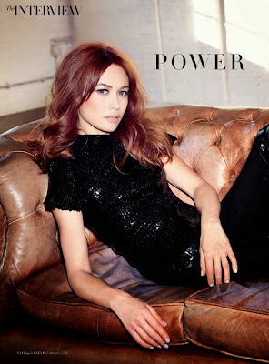 Olga Kurylenko – Harper's Bazaar Arabia February 2015