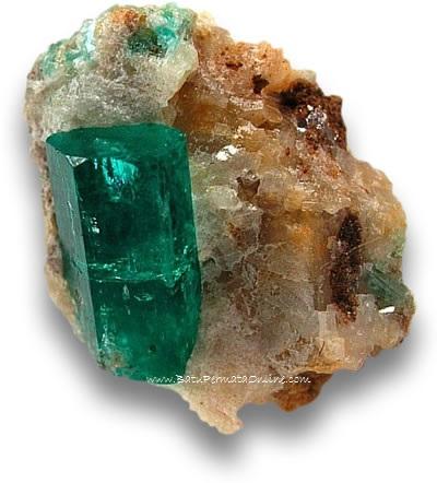 Batu zamrud Natural