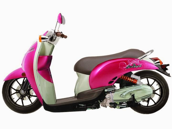 modifikasi motor honda scoopy terbaru 2015