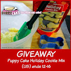 Puppy Cakes Holiday Cookie Mix