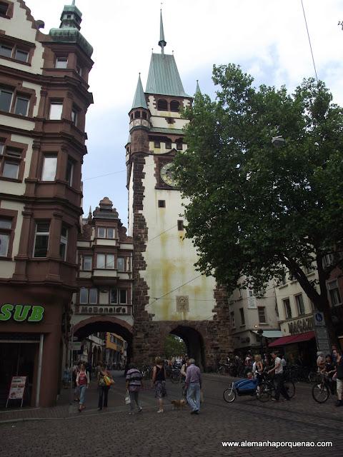 Freiburg, uma das principais cidades da Floresta Negra