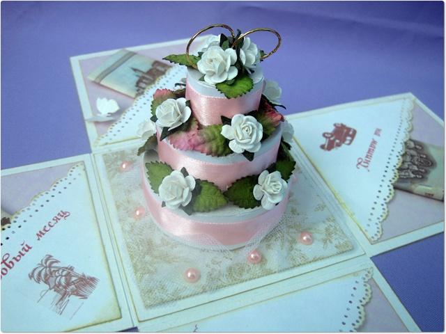 Коробочка торт для денег своими руками 83