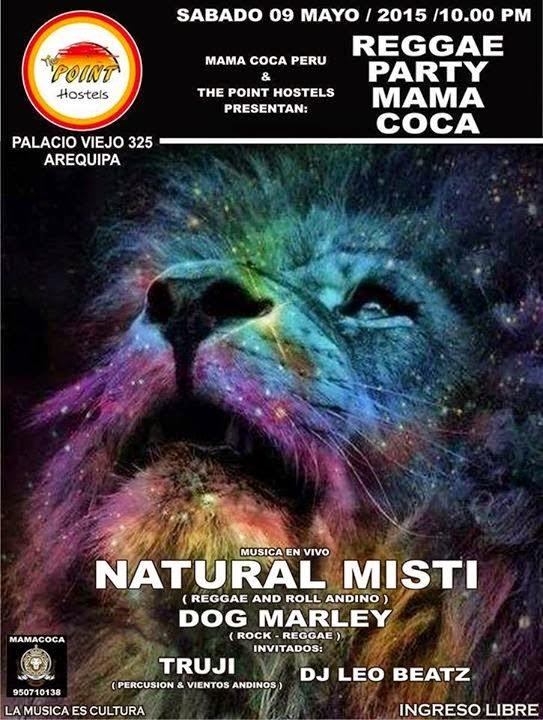 Reggae Party con Natural Misti - 09 de Mayo