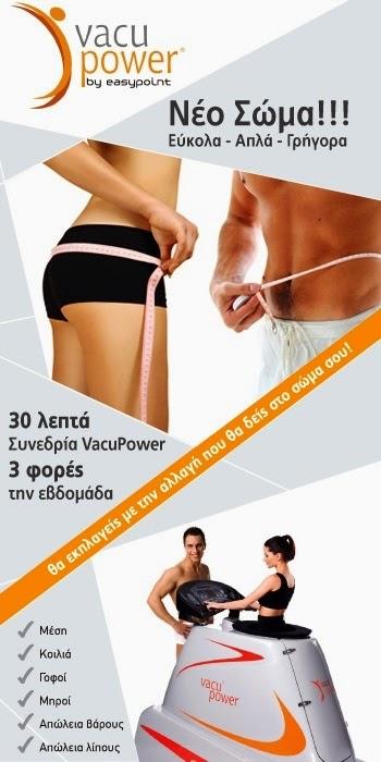 Vacupower, η νέα μέθοδος στη διαμόρφωση του σώματος.