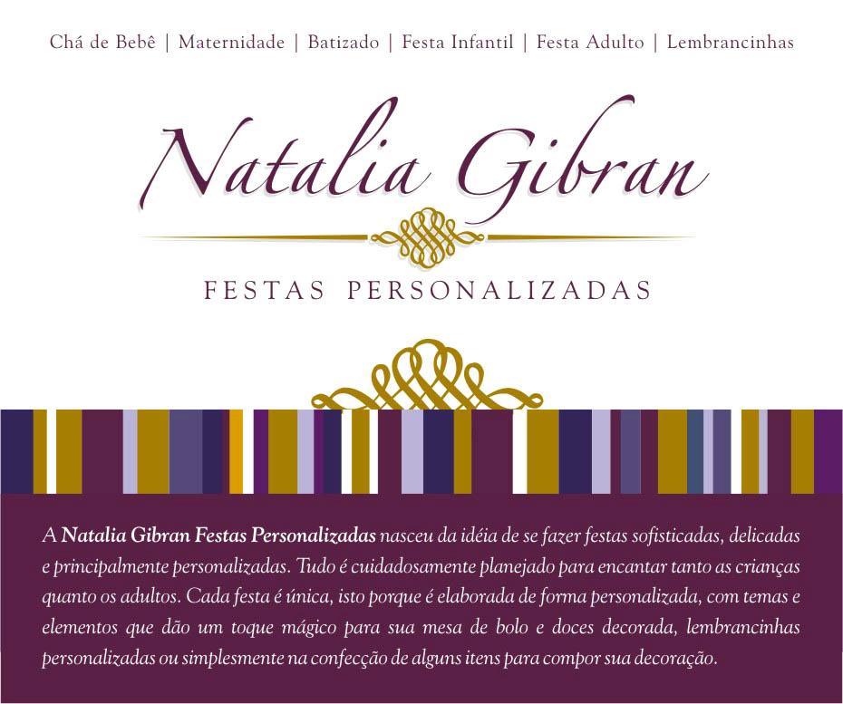 Natalia Gibran | Festas Personalizadas