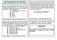 manual do controle infratron