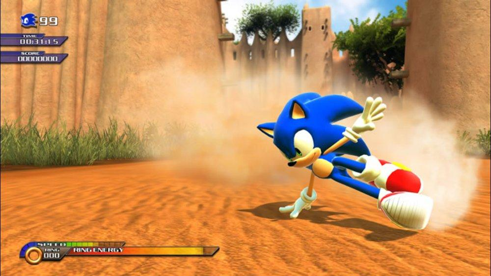 Modders release high-res Sonic Unleashed PC conversion