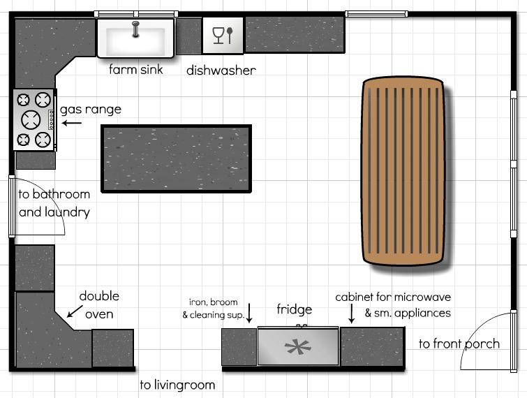Modern Kitchen Floor Plan simple kitchen floor plans. interior simple design mesmerizing for