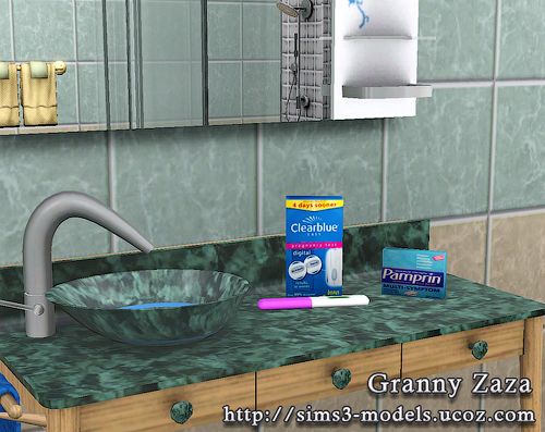 My Sims 3 Blog Women 39 S Stuff Decor By Granny Zaza