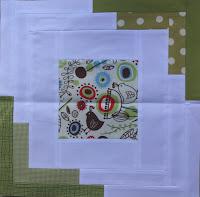 converging corners quilt bee block
