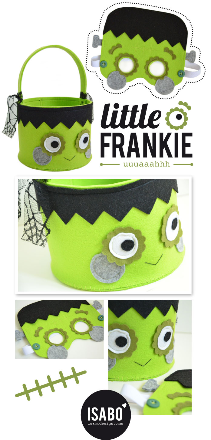 ISABO Halloween Frankenstein Mask