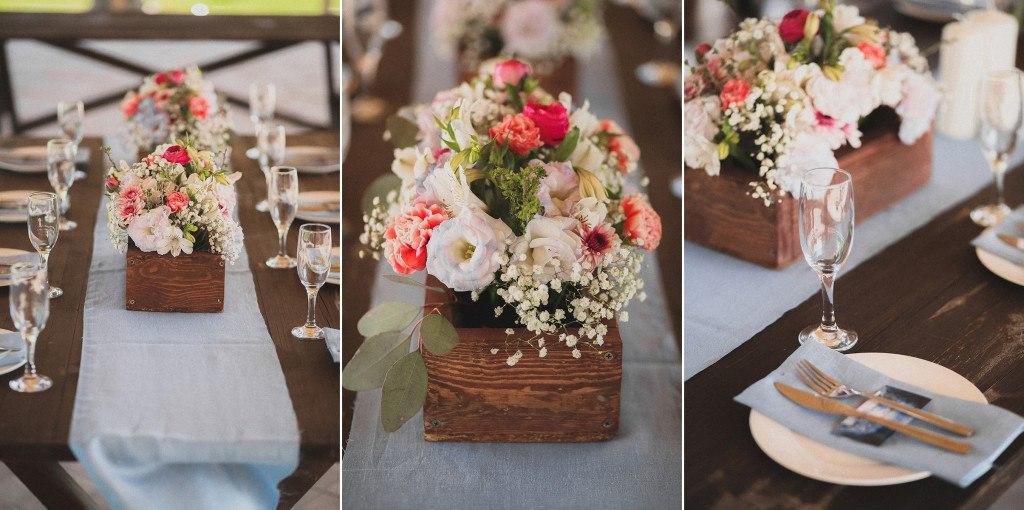 Декор на свадебный стол гостей своими руками 23