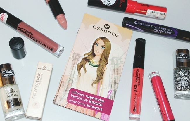 ESSENCE 2015 makeup haul (lipglosses, mascaras, nail polishes...).Essence sminka 2015.
