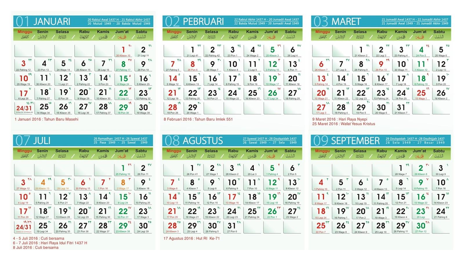 2016 Kalender Jawa Related Keywords & Suggestions - 2016 Kalender Jawa ...