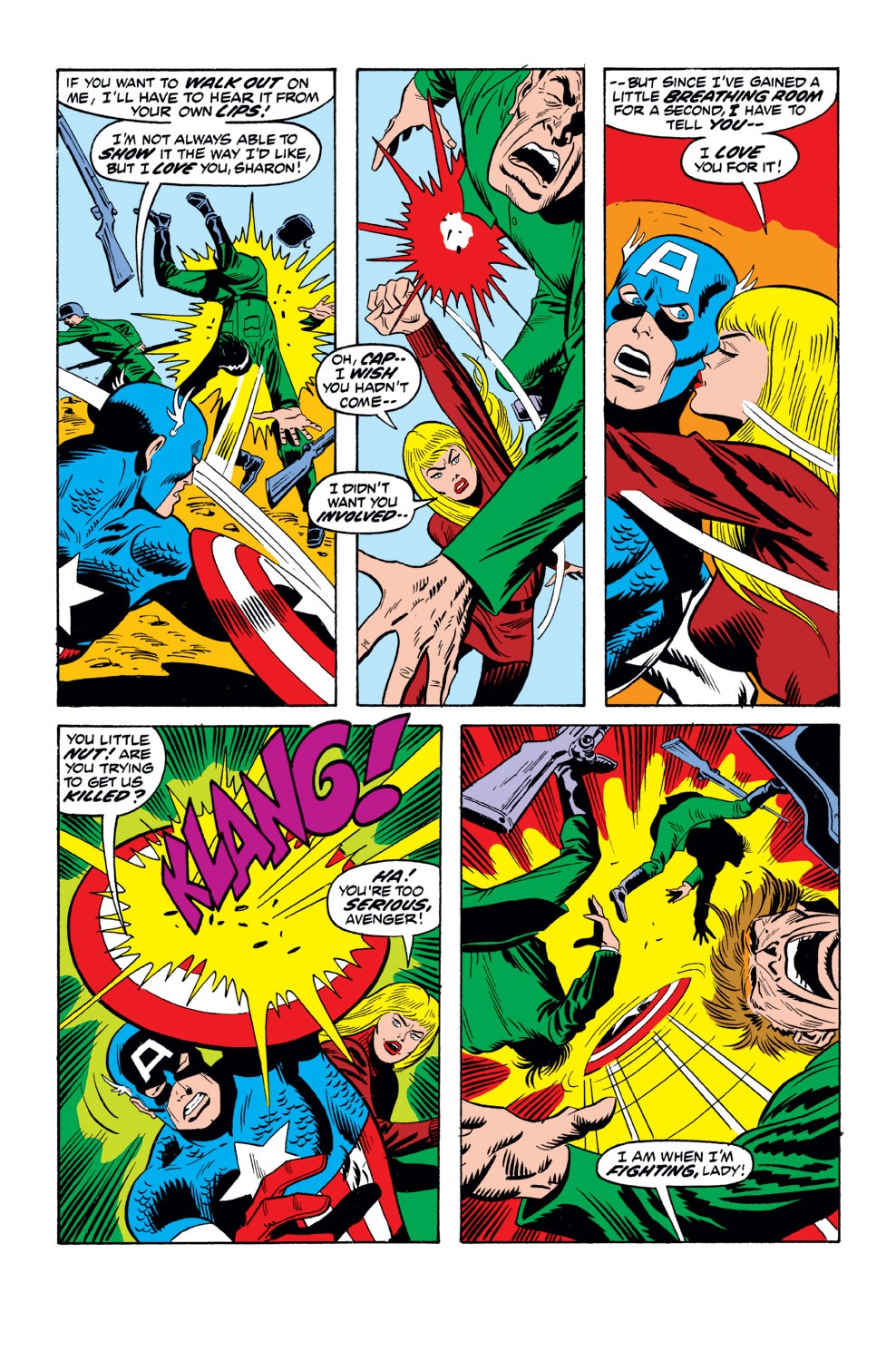 Captain America (1968) Issue #162 #76 - English 4